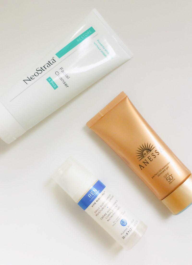 Os passos essenciais na rotina de cuidados da pele