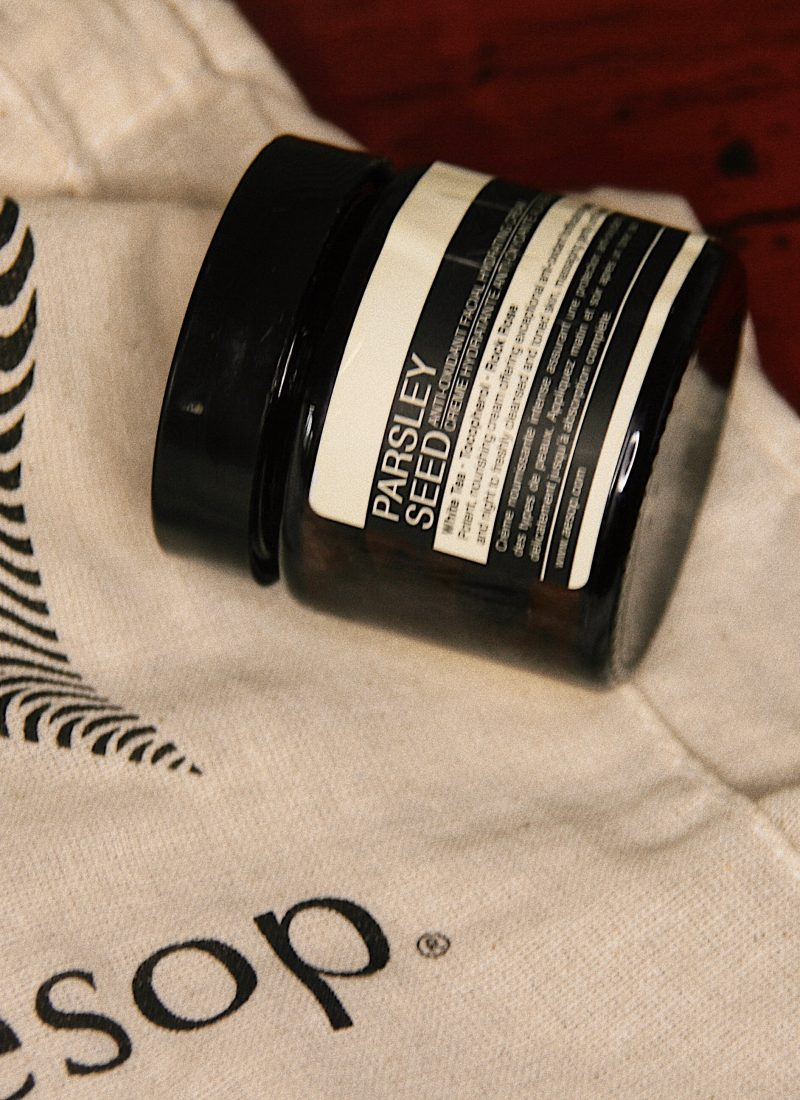 Review: Aesop Parsley Seed Anti-Oxidant Facial Hydrating Cream
