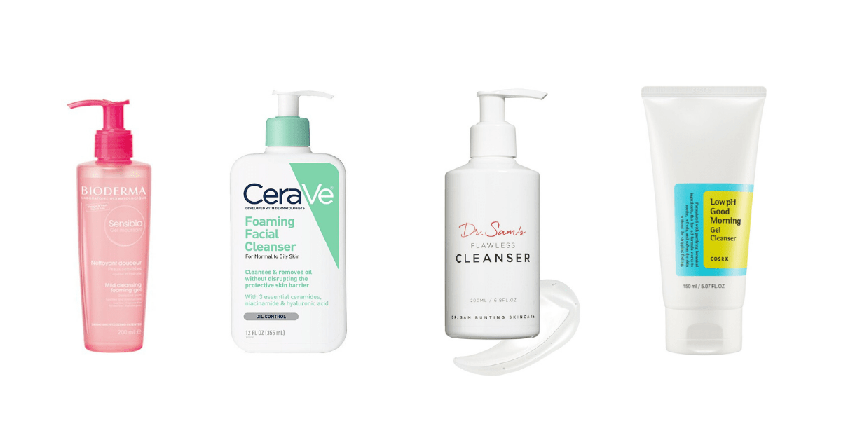 Limpeza na melhor rotina para pele desidratada