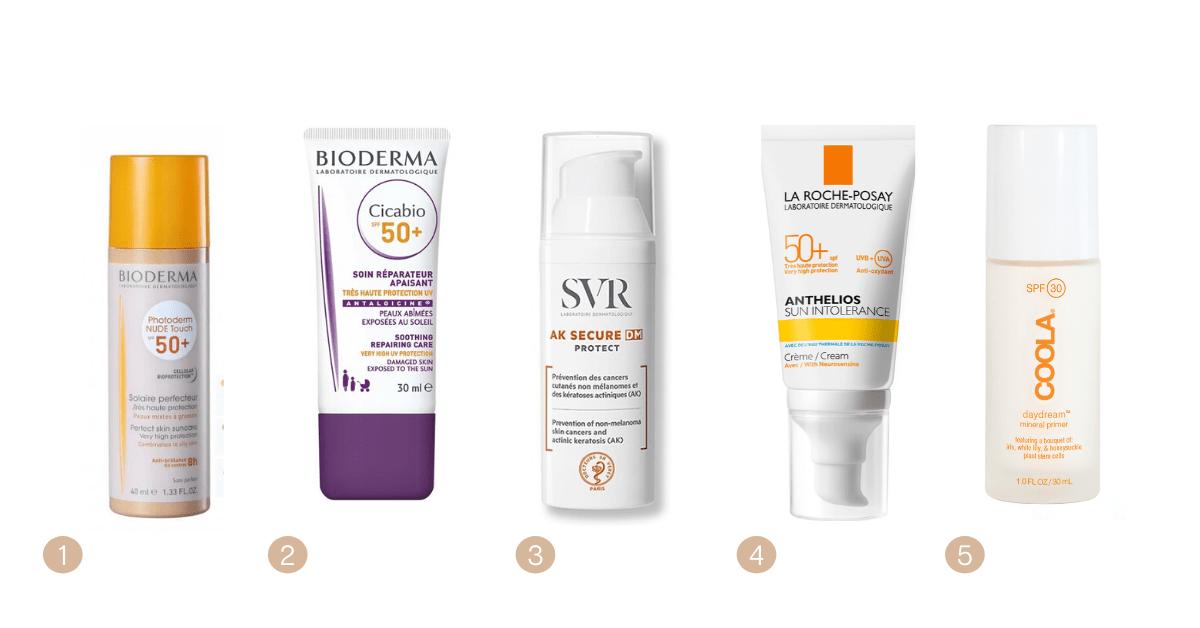 Protetores solares para pele sensível ou com cuidados especiais