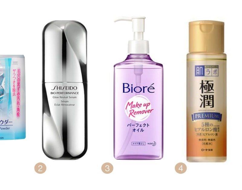 Os meus favoritos da cosmética japonesa