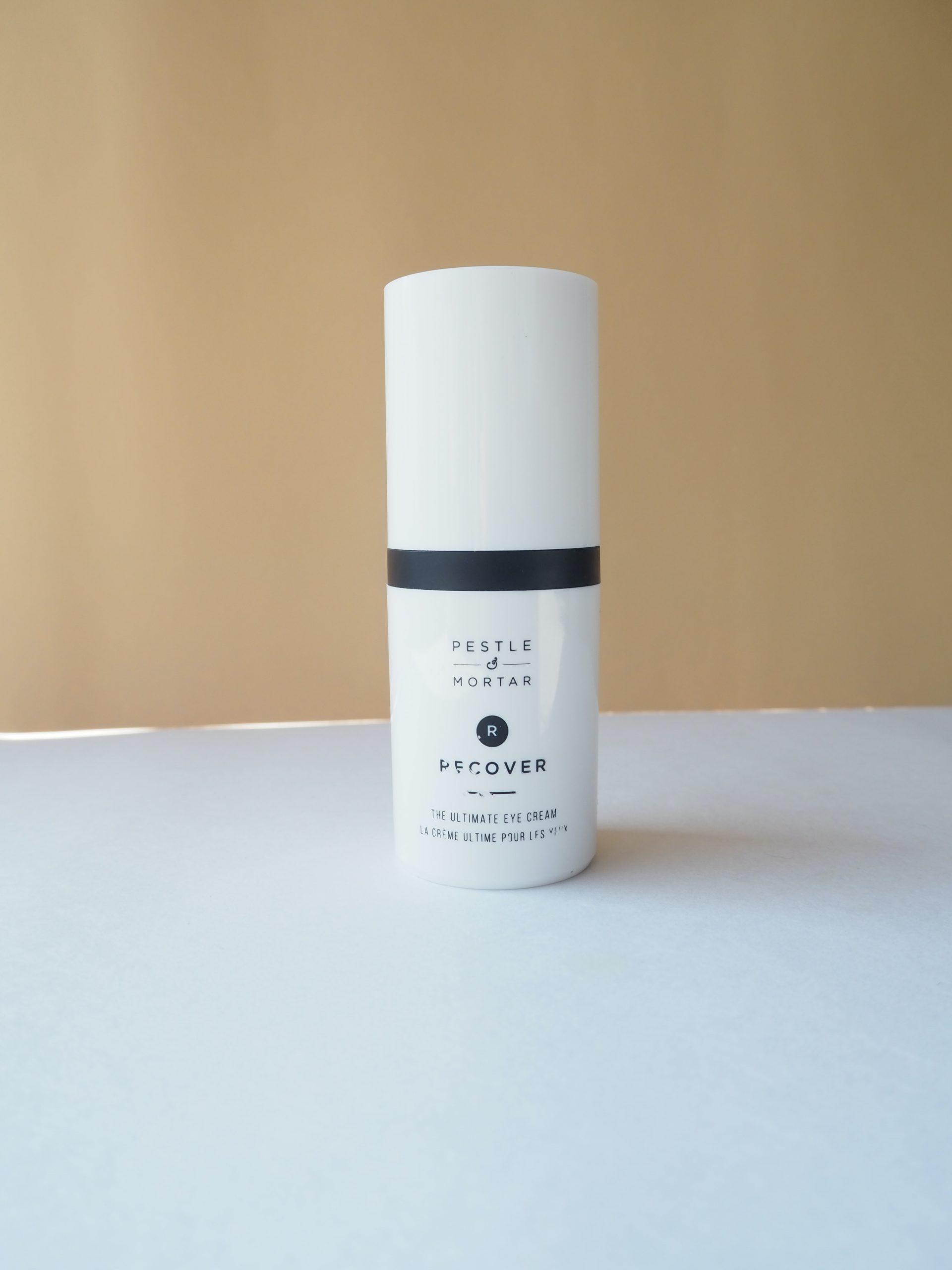 Review creme de olhos hidratante Pestle & Mortar Recover