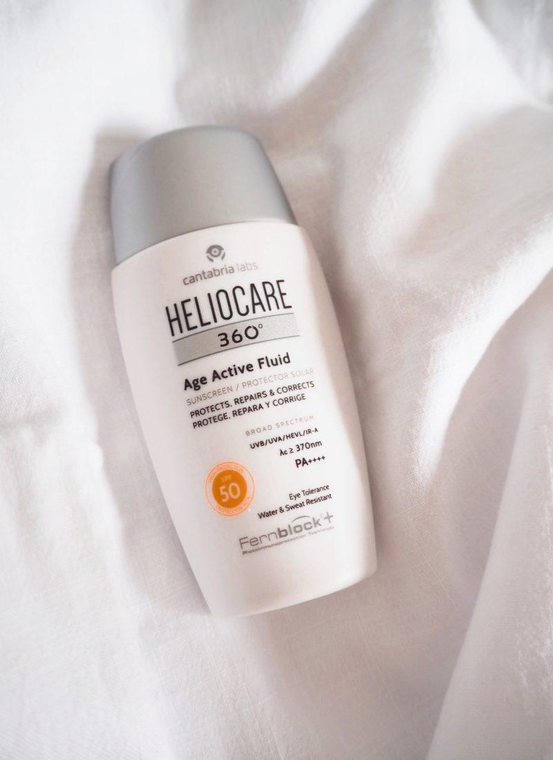 Review: Protetor Solar Heliocare Age Active Fluid